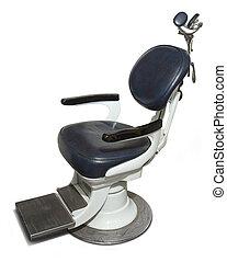 chaise dentiste, retro
