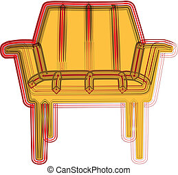 chaise, illustration