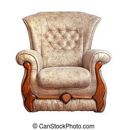 chaise, isolé