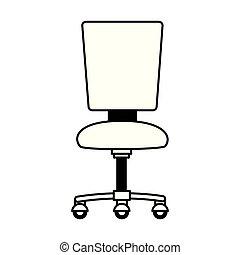 chaise, meubles bureau