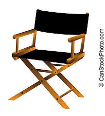 chaise, vecteur, illustration