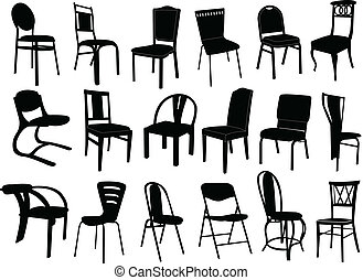 chaises, collection