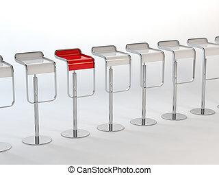 chaises, concept