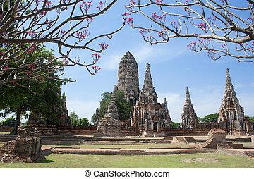 Chaiwattanaram temple in Ayutthaya