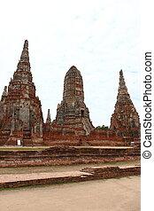 chaiwatthanaram, ayutthaya, temple