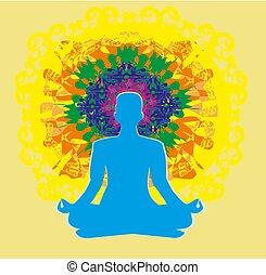 chakra, エネルギー, 前兆, 人間の組織体