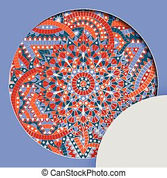 chakra, 圖案, 輪