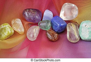 chakra, 虹, 宝石用原石, シフォン