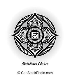 chakra, conception, muladhara