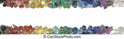 Chakra Crystal website banner - Matching header and footer...