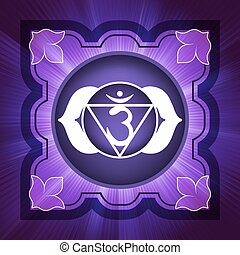 Chakra Six (Vector) CMYK ready. EPS 8 vector file included