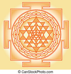 chakra, yantra, shri