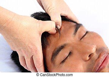 chakras third eye massage ancient Maya therapy central...