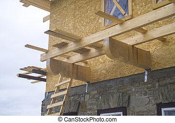 chalet, construcción