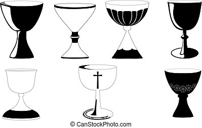 Chalice at Mass - Chalice used at Mass in Christianity