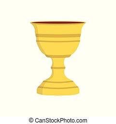 Chalice flat design icon