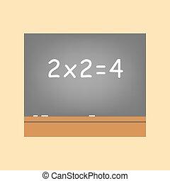 Chalk Blackboard Icon