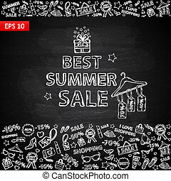 Chalk board Summer Sale