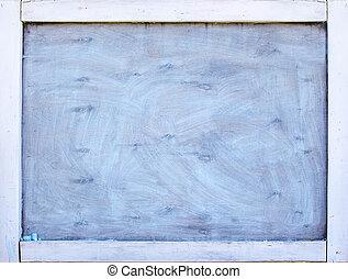 chalk board wooden retro black