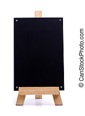 Chalk menu board - A chalk menu board with wood frame, ...