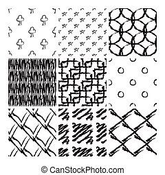 Chalk patterns