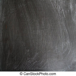 Chalk rubbed out on blackboard with a copy space - Chalk ...