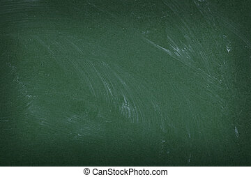 chalkboard background - close up of an empty school...
