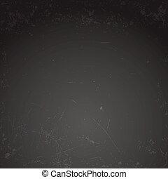 Chalkboard background template - Blank black chalkboard...