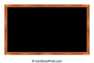 black Black chalk board . (with clipping work path)