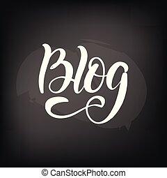 lettering blog