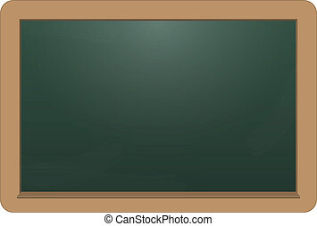 illustration of empty chalkboard for your text