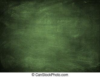 Chalkboard - Chalk rubbed out on chalkboard