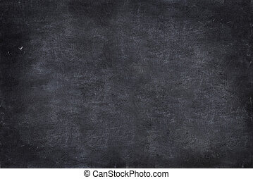 close up of a black dirty chalkboard