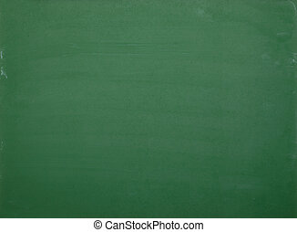 close up of an empty chalk board