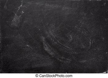 closeup of chalkboard