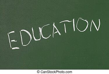 chalkboard classroom school education