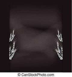 chalkboard design  illustration background