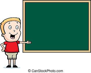 chalkboard, dziecko