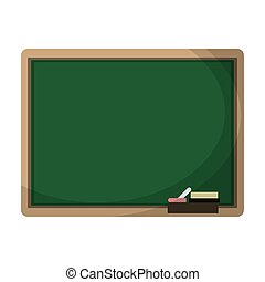 chalkboard eraser white chalk