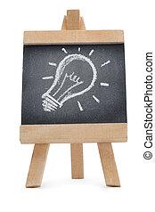 chalkboard, informatietechnologie, trekken