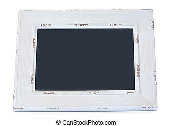 Chalkboard on white background