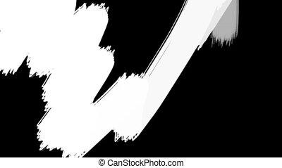 Chalkboard Paint Transition Wipe - Transition element alpha...