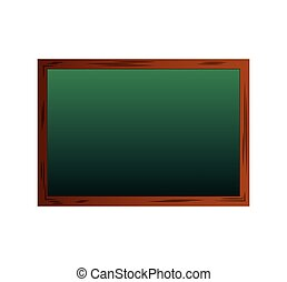 chalkboard school isolated icon