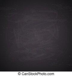 chalkboard, tło., czarnoskóry