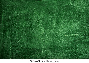 Green school chalkboard texture as background for school themes.
