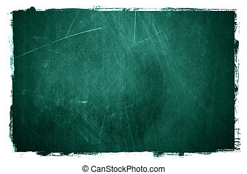 Grunge textured type of chalkboard background.