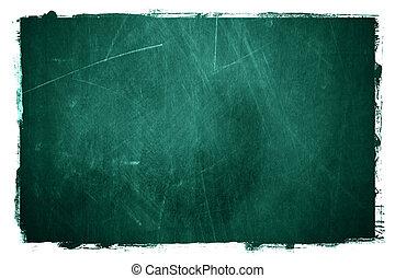 Chalkboard texture - Grunge textured type of chalkboard...