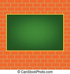 chalkboard verde