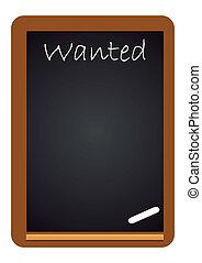 Chalkboard Wanted