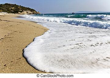 chalkidiki, armenistis, παραλία , ελλάδα
